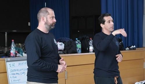David Pauli und Luis Gutierrez